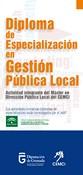 Diploma de Especialización en Gestión Pública Local