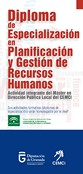 Diploma de especialización en planificación y gestión de recursos humanos