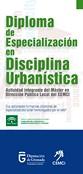 Diploma de especialización en disciplina urbanística
