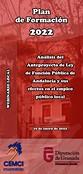 Análisis del Anteproyecto de Ley de Función Pública de Andalucía y sus efectos en el empleo público local