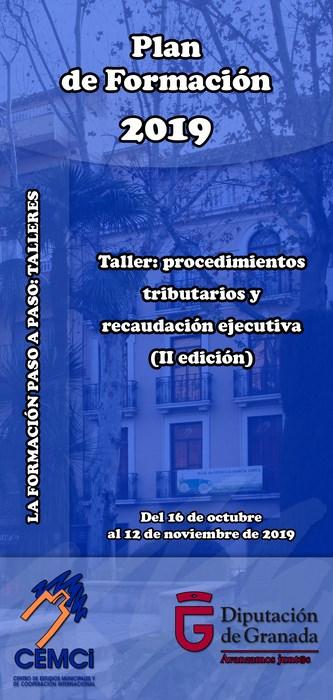 Taller: Procedimientos tributarios y recaudación ejecutiva (II edición.