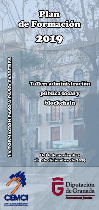 Taller: Administración pública local y blockchain.