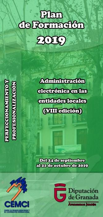 Curso: Administración electrónica en las entidades locales (VIII edición).