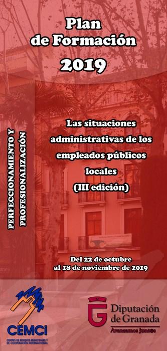 CMES: Las situaciones administrativas de los empleados públicos locales (III edición).