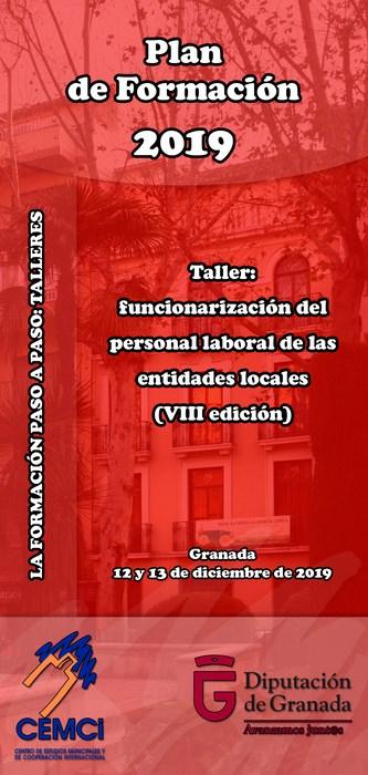 Taller: Funcionarización del personal laboral de las entidades locales (VIII edición).