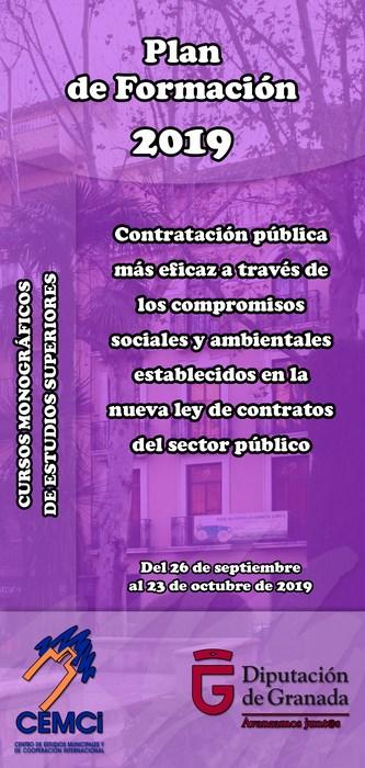 CMES: Contratación pública más eficaz a través de los compromisos sociales y ambientales establecidos en la nueva Ley de Contratos del Sector Público.