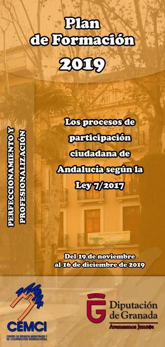 Curso: Los procesos de participación ciudadana de Andalucía según la Ley 7/2017.