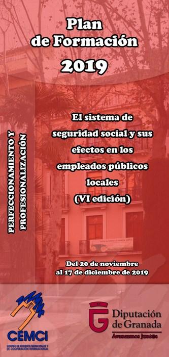 Curso: El sistema de seguridad social y sus efectos en los empleados públicos locales (VI edición).