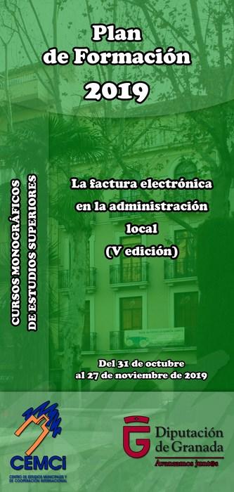 CMES: La factura electrónica en la administración local (V edición).