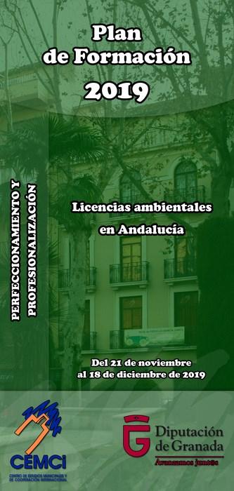 Curso: Licencias ambientales en Andalucía.