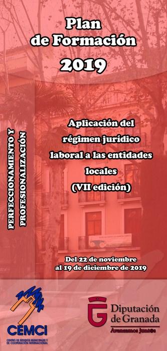 Curso: Aplicación del régimen jurídico laboral a las entidades locales (VII edición).