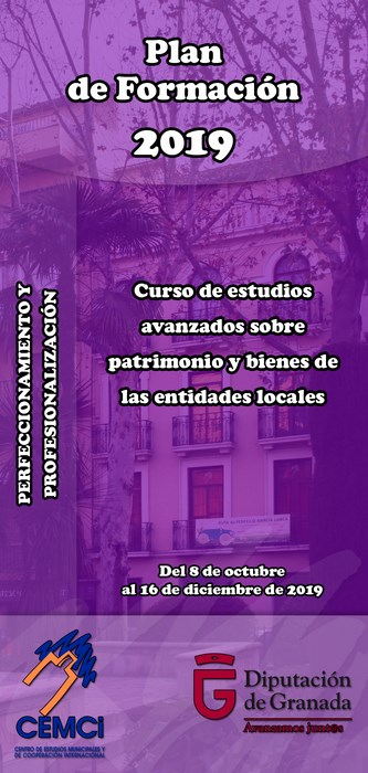 CMES: Curso de Estudios Avanzados sobre patrimonio y bienes de las entidades locales.