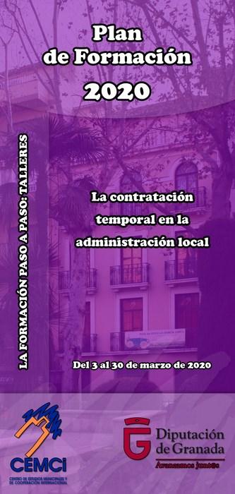 Taller: La contratación temporal en la administración local.