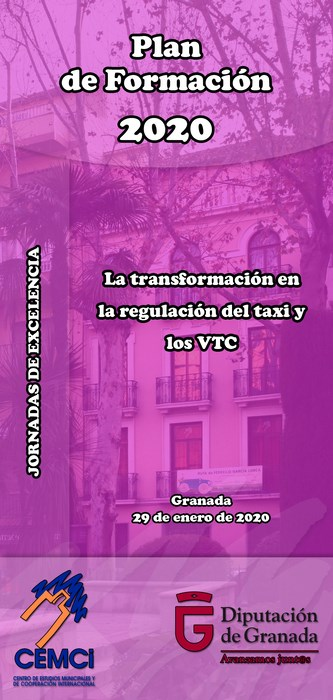Jornadas de excelencia: La transformación en la regulación del taxi y los VTC.
