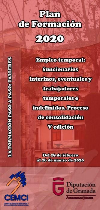 Taller: Empleo temporal: funcionarios interinos, eventuales y trabajadores temporales e indefinidos. Proceso de consolidación (V edición).