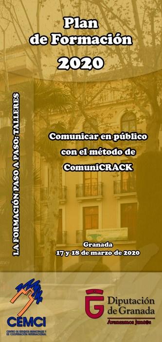Taller: Comunicar en público con el método de ComuniCRACK.