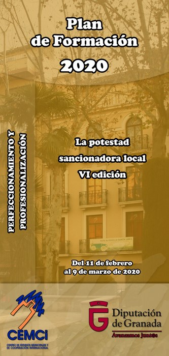 Curso: La potestad sancionadora local (VI edición).