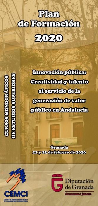 CMES: Innovación pública: Creatividad y talento al servicio de la generación de valor público en Andalucía.