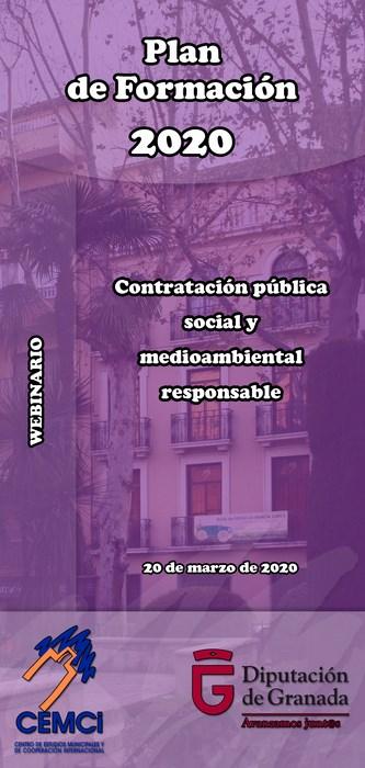 Webinario local: Contratación pública social y medioambiental responsable.