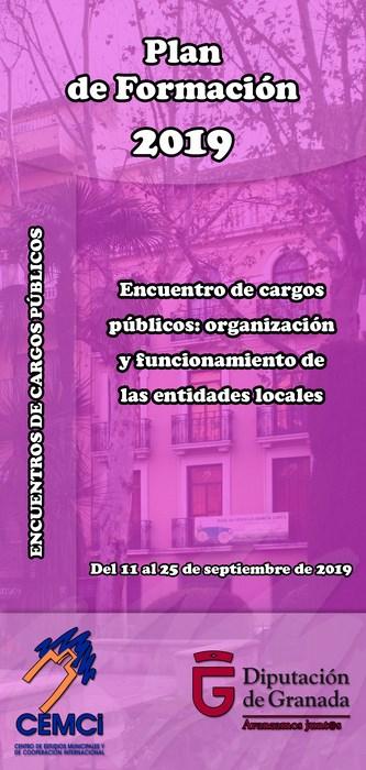Encuentros de cargos públicos: Organización y funcionamiento de las entidades locales.