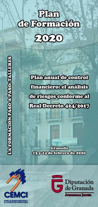 Taller: Plan anual de control financiero: el análisis de riesgos conforme al Real Decreto 424/2017.