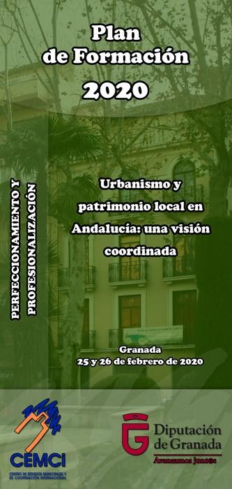 Curso: Urbanismo y patrimonio local en Andalucía: una visión coordinada.