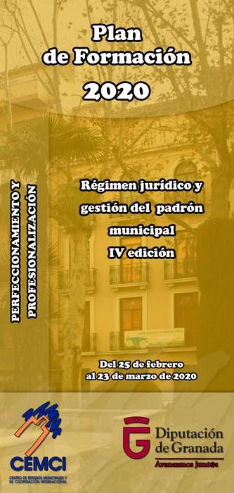 Curso: Régimen jurídico y gestión del padrón municipal (IV edición).