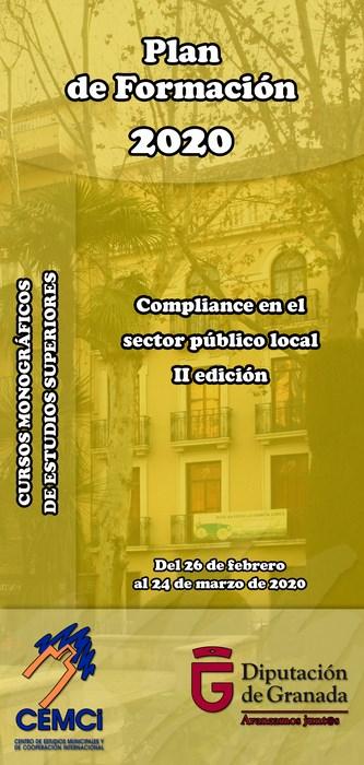Cursos monográficos de estudios superiores: Compliance en el sector público local (II edición).