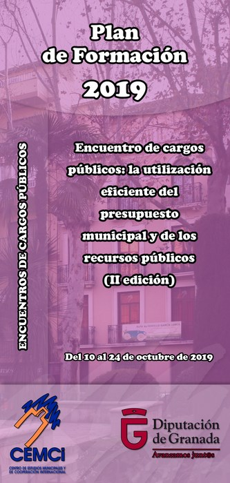 Encuentros de cargos públicos: La utilización eficiente del presupuesto municipal y de los recursos públicos (II edición).